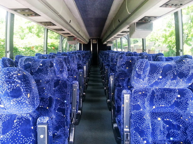 54 Pax Coach Bus in