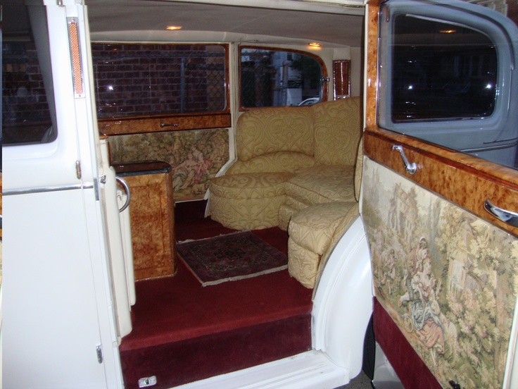 Rolls Royce 1937 interior