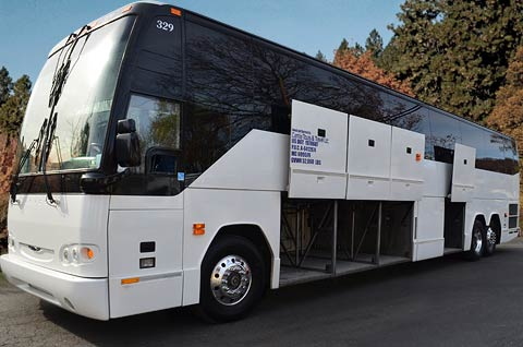 54 Passengers Coach Bus Party Bus And Limo Rental Prom